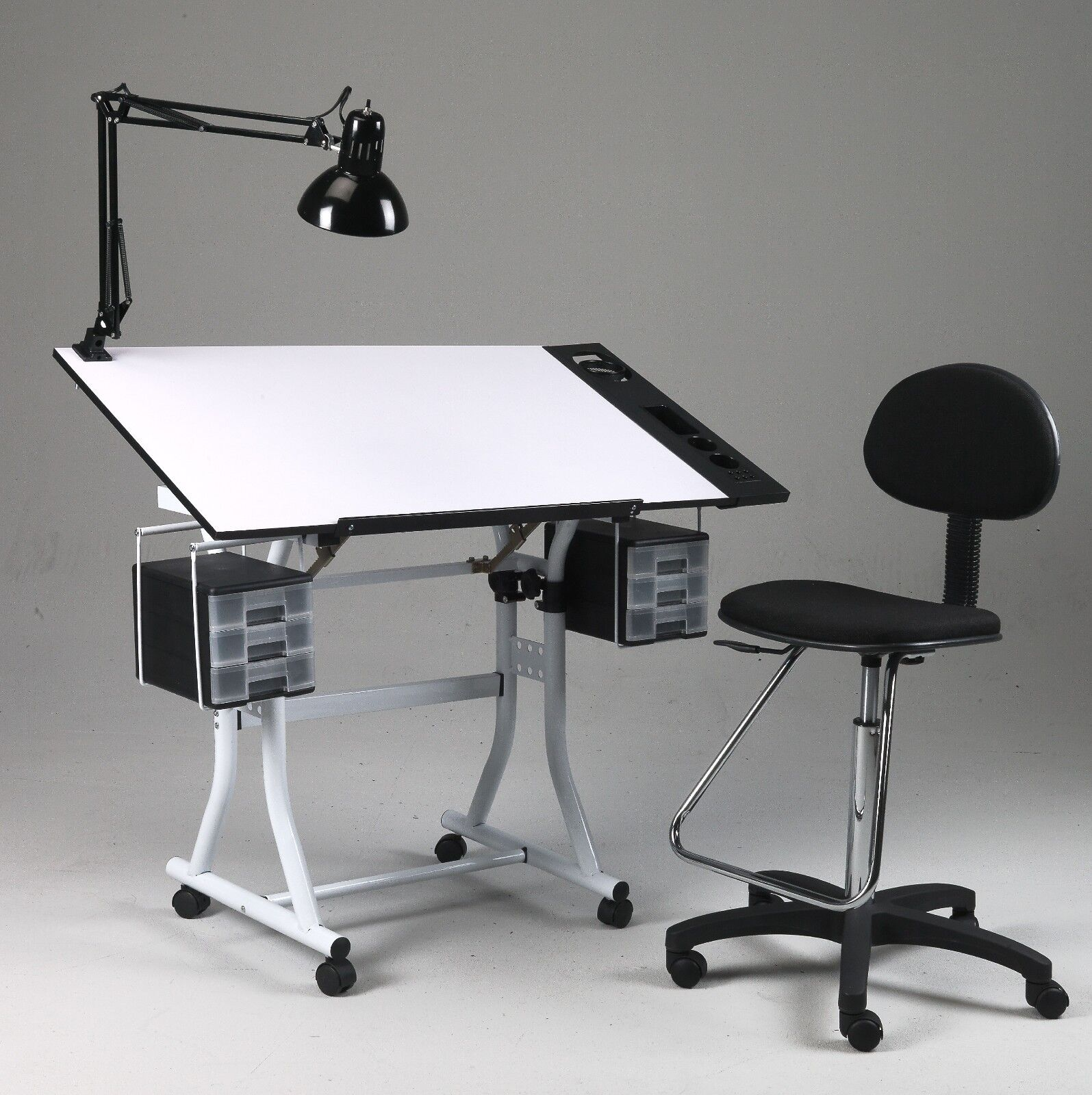 drafting table chair height used and chairs for sale drawing art hobby craft desk w drawers
