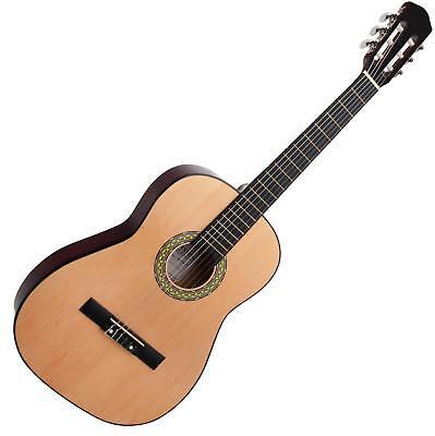 7/8 Konzert Gitarre Klassik Akustik Anfänger Guitar Holz Linde Blackwood Nylon
