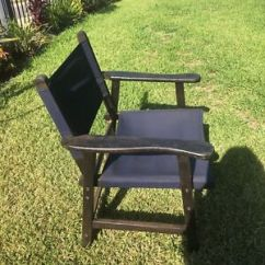Director Chair Replacement Covers Ebay One And A Half Recliner Timber Directors Gumtree Australia Free Local Classifieds