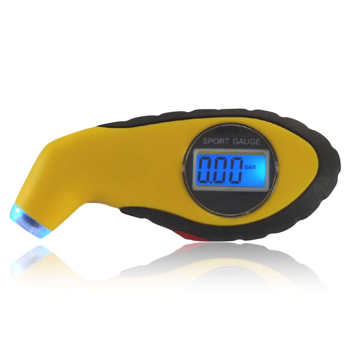 Digital Reifendruckmesser mit LCD für Auto Lkw Fahrrad Luftdruckprüfer Messgerät