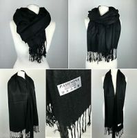 Black Wool Shawl | eBay