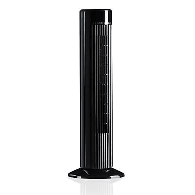 Brandson Turmventilator   inkl. Fernbedienung & Oszilation   76 cm Höhe
