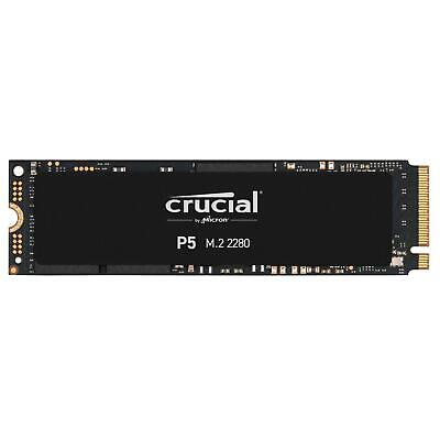 SSD Festplatte Crucial P5 500GB 3D NAND NVME PCIe M.2 SSD