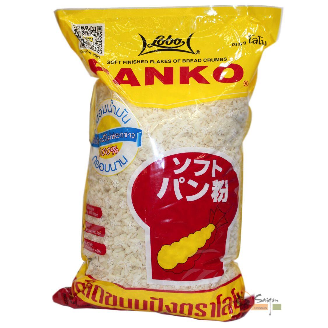1kg Lobo Panko zum Panieren Paniermehl grob Japan Style Tempura Brotkrumen