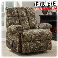 Camouflage Living Room Furniture Round Rugs For Camo Ebay Recliner Rocker Chair Armrest Lounge Lazy Boy Sofa