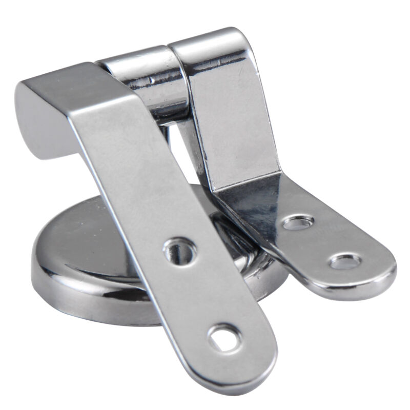 Replacement Chrome Toilet Seat Hinge Set Pair With