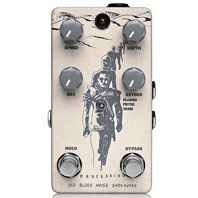 Old Blood Noise Endeavors Procession Reverb V2 Modulation Pedal