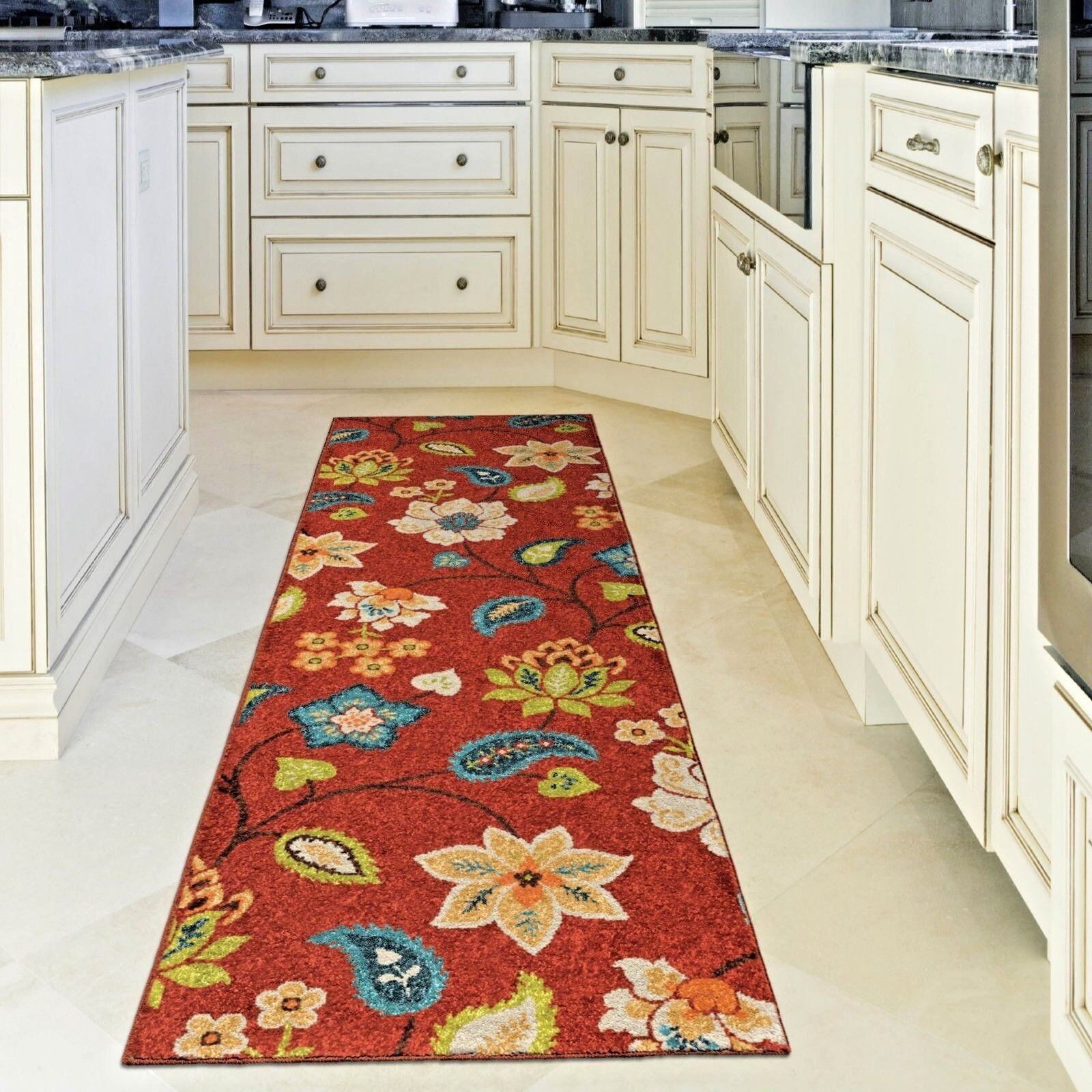 kitchen rug runners small recycling bins for rugs carpet area outdoor cute red patio details about runner