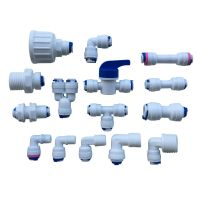 """1/4"""" Push Fit Pipe Fittings for American Fridge and RO ..."""