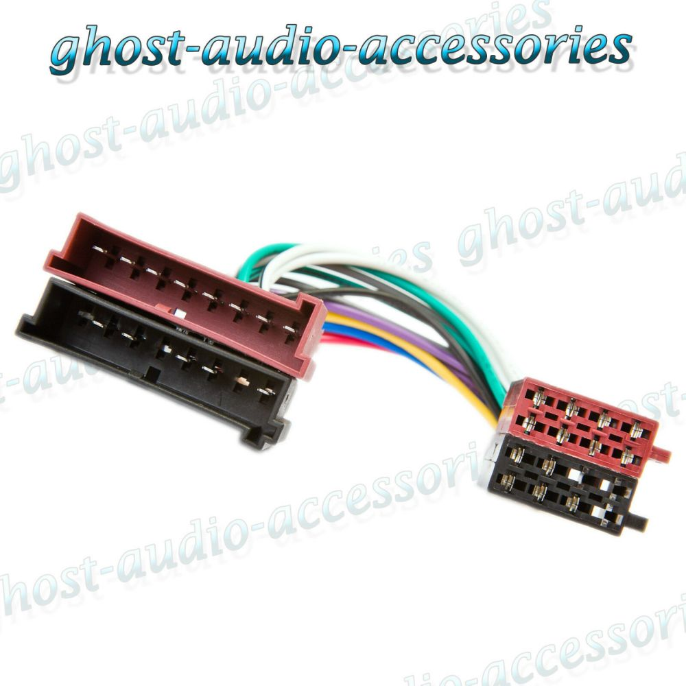 medium resolution of details about ford sierra iso car radio stereo harness adapter wiring connector