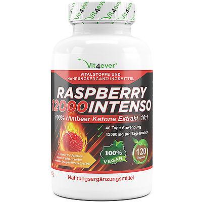 Das Original Raspberry Ketone Himbeerketone 12000 mg Himbeere Ketone 120 Kapseln