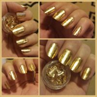 How to gold leaf your nails | eBay