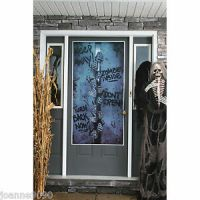 SCARY SPOOKY ZOMBIE HANDS KEEP AWAY HALLOWEEN PARTY DOOR ...