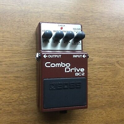 Boss BC-2 Combo Drive Guitar Effects Overdrive Distortion Pedal
