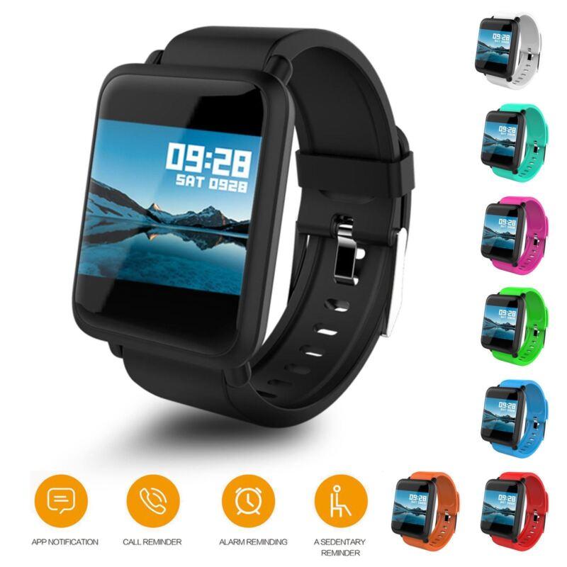 Neu Smartband M28 Pulsuhr Blutdruck Fitnesstracker Smartwatch Fitness Sportuhr