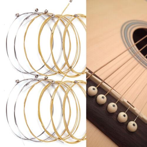 2 Satz Stahl Saiten Gitarrensaiten Gitarre  012-053 Set