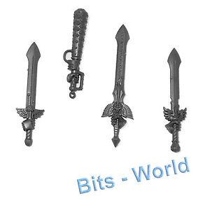 Warhammer 40K Bits Dark Angels Ravenwing Power Swords Amp
