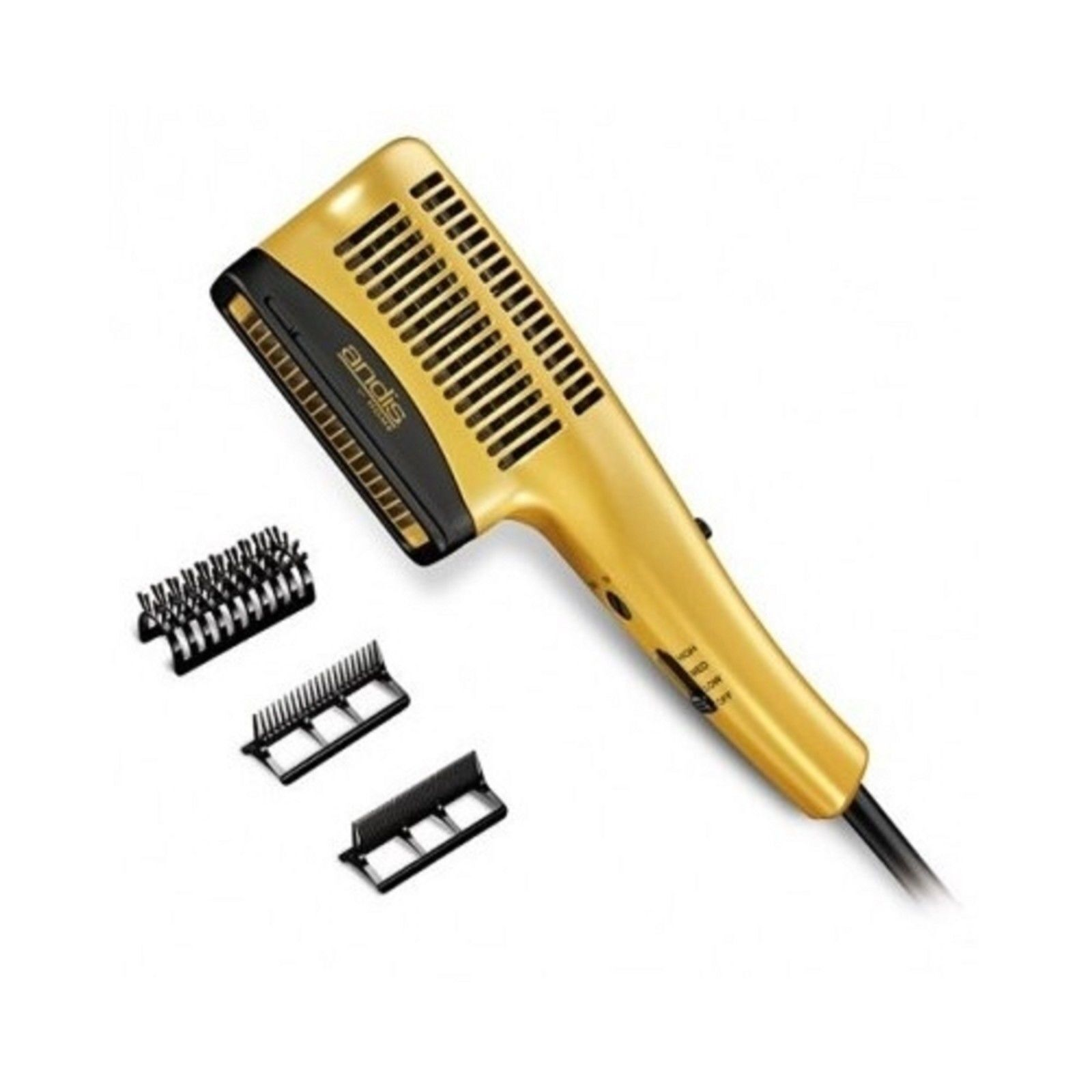 Ceramic Ionic Styler Hair Blow Dryer Straight Curl Comb Brush Smooth Silky Salon  eBay