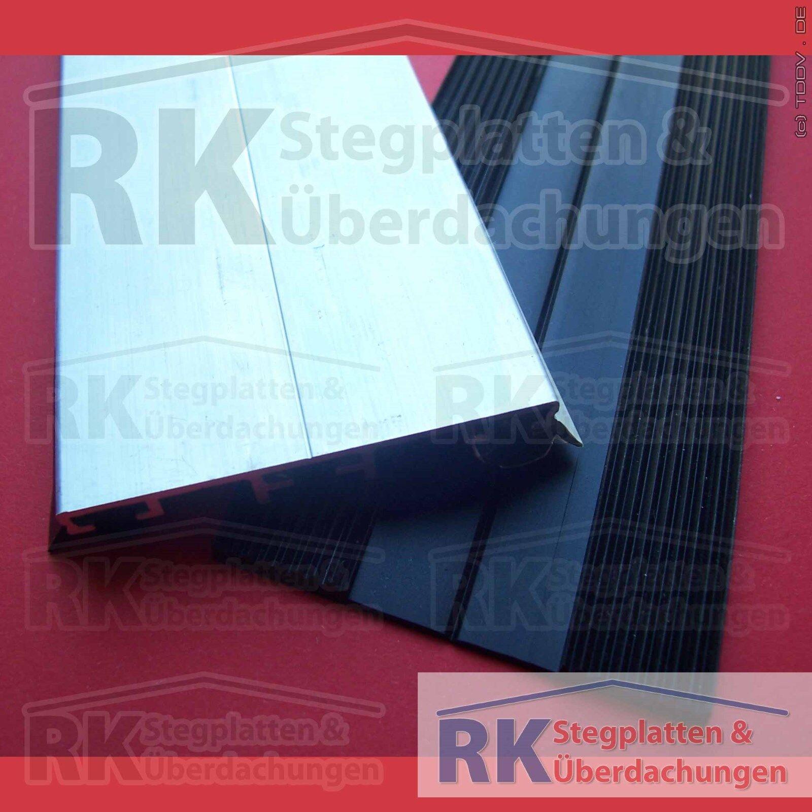 Alu-Universalprofil Für Alle Stegplatten / Glas,