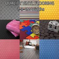 Brand New Quality Non Slip Vinyl Flooring Lino Kitchen ...
