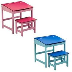Childs Desk And Chair Patio Covers Costco Childrens Kids Desks Chairs Ebay Wooden