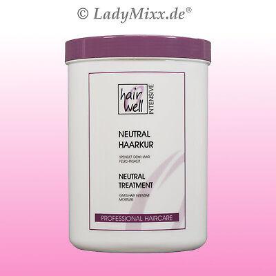 Neutral Vollkur Haarkur 1000 ml Hairwell EURODOR für normales  Haar Silikonfrei