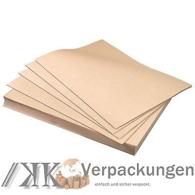 Schrenzpapier Packpapier Packpapier Füllmaterial 50 x 75 cm 80g 100g 120g Bogen