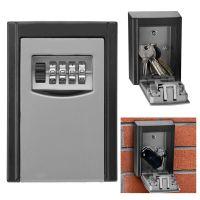 OUTDOOR KEY SAFE BOX Combination Security Keys Lock Wall ...