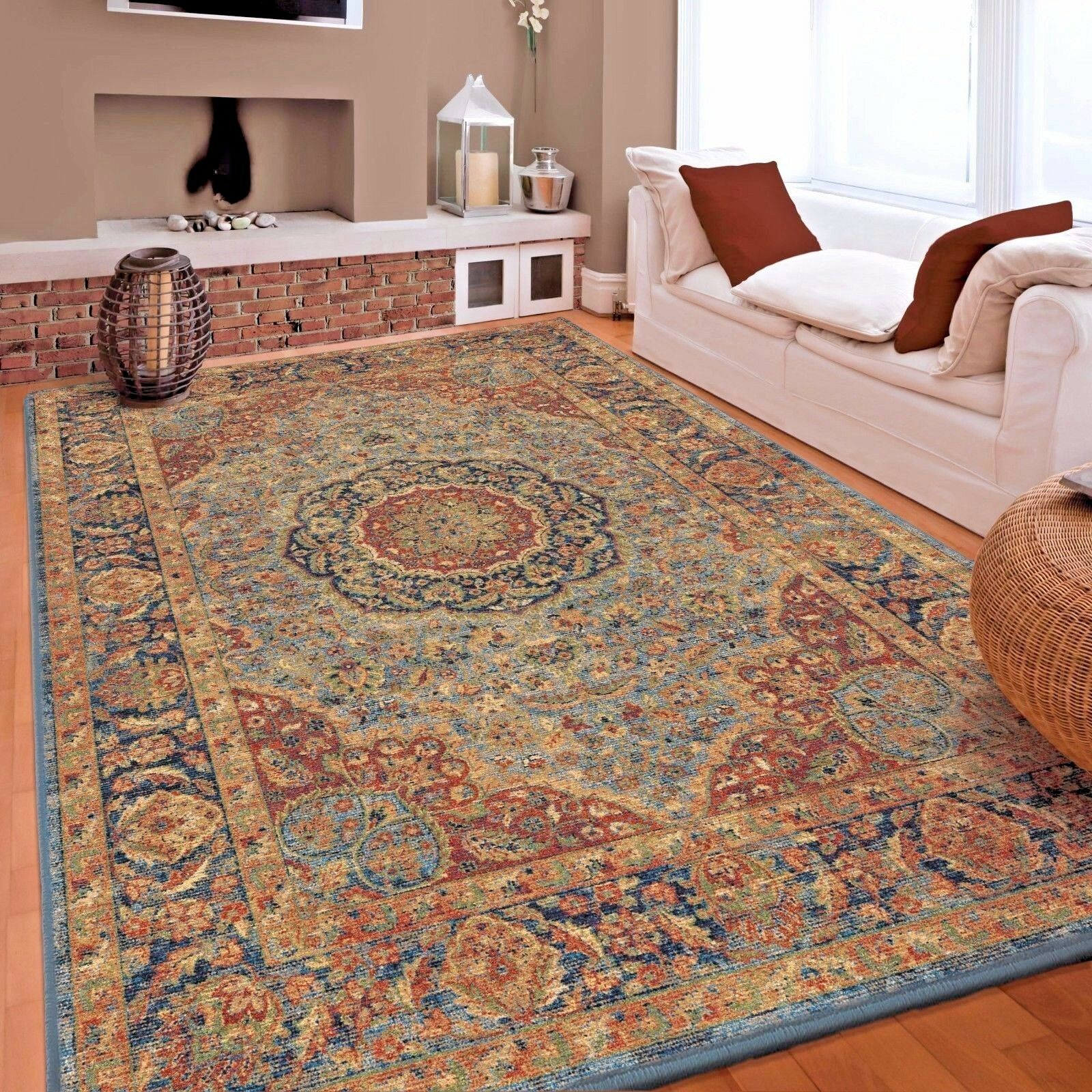living room rugs 8x10 contemporary area rug carpet oriental persian large floor details about new