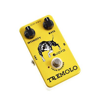 JOYO JF-09 Tremolo Guitar Effect Pedal