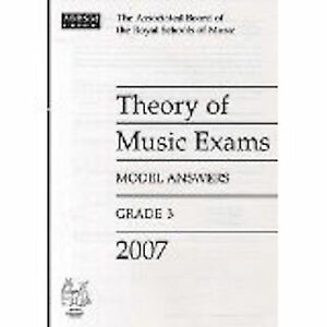 Theory of Music Exams Grade 3 Model Answers 2007 ABRSM