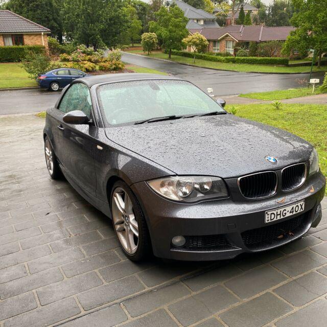 2008 Bmw 1 25i 6 Sp M Sport E88 Automatic 2d Convertible | Cars. Vans & Utes | Gumtree Australia The Hills District - Castle Hill | 1261703488
