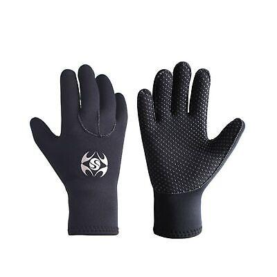 Diving Gloves Neoprene, Wetsuits Five Finger Gloves, 3MM Anti Slip Flexible T...