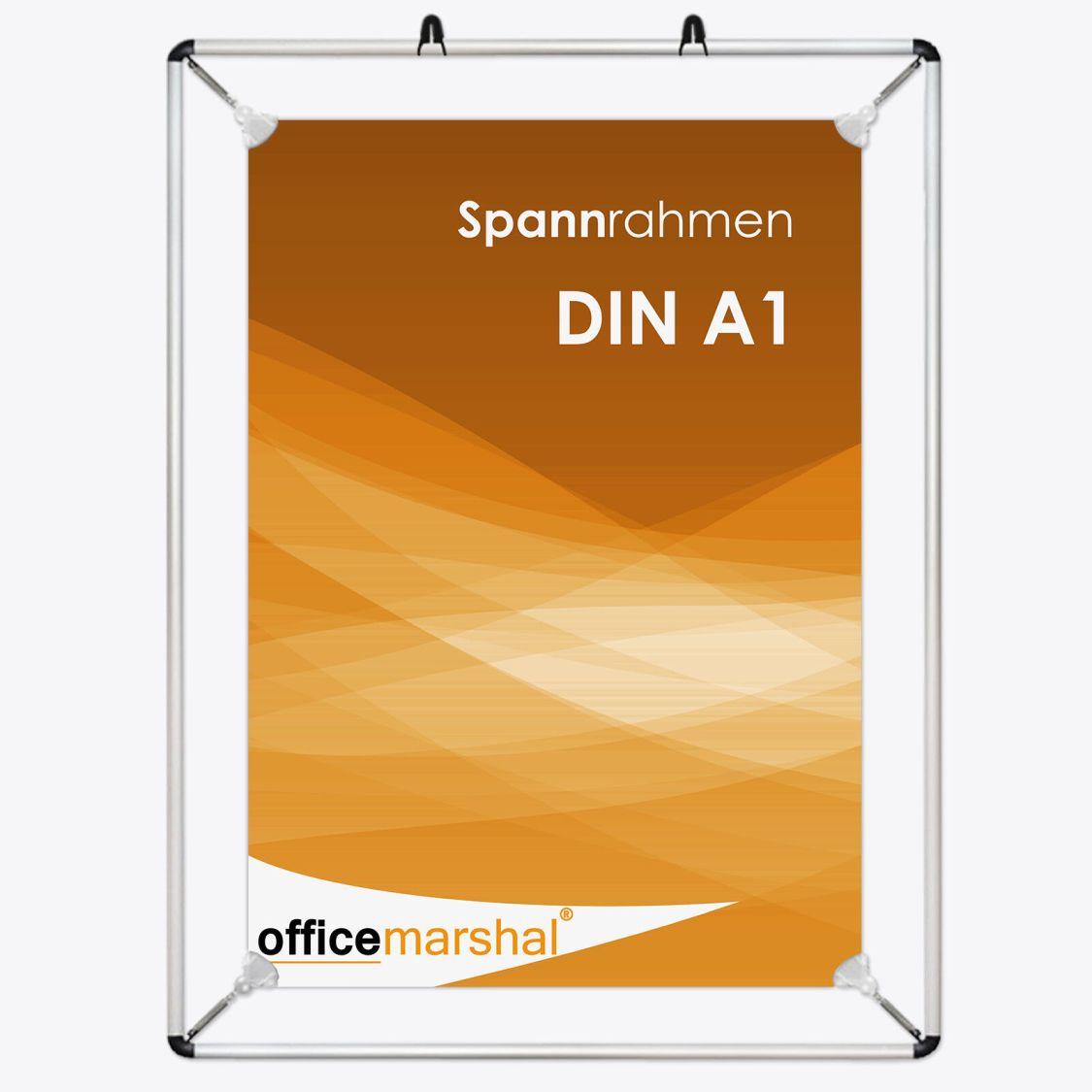 1 x Spannrahmen Plakatrahmen Werberahmen Posterhalter Bilderrahmen Größe DIN A1
