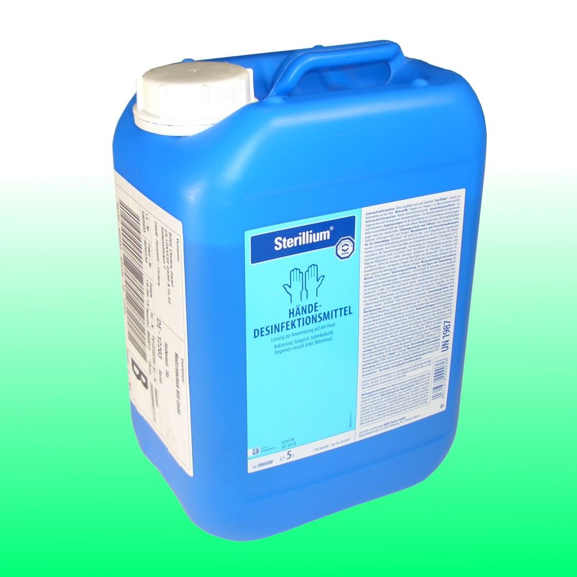 Sterillium - 5000ml 5 Liter Haut- und Händedesinfektion Sterilium