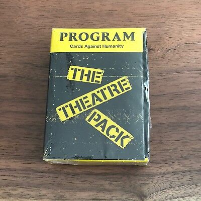 Cards Against Humanity The Theatre Pack Expansion Pack New Sealed