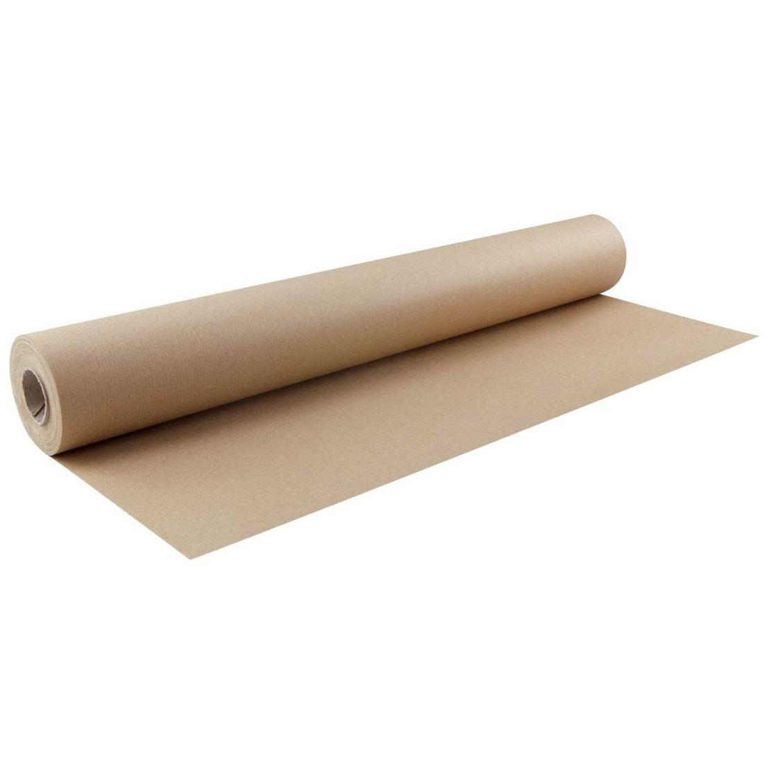 Packpapierrolle Einpackpapier Geschenkpapier, 75 cm x 25 m, braun