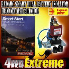 Red Arc Dual Battery Isolator Wiring Diagram Dodge Ram 1500 Radiator Sbi12 Redarc System Suit 4wd Caravan