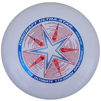 Discraft Ultrastar 175g Ultimate Frisbee Wurfscheibe - Farbe: Weiss