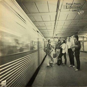 Florian Poser's Lifeline – Linie 2  1981 pläne 88280  BRAZIL FUNK JAZZ Vinyl LP