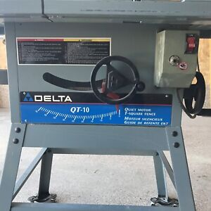 Delta Qt 10 Table Saw