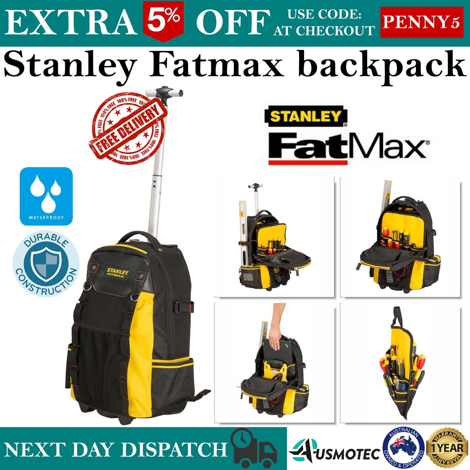 Stanley 1 79 215 Fatmax Backpack On Wheels