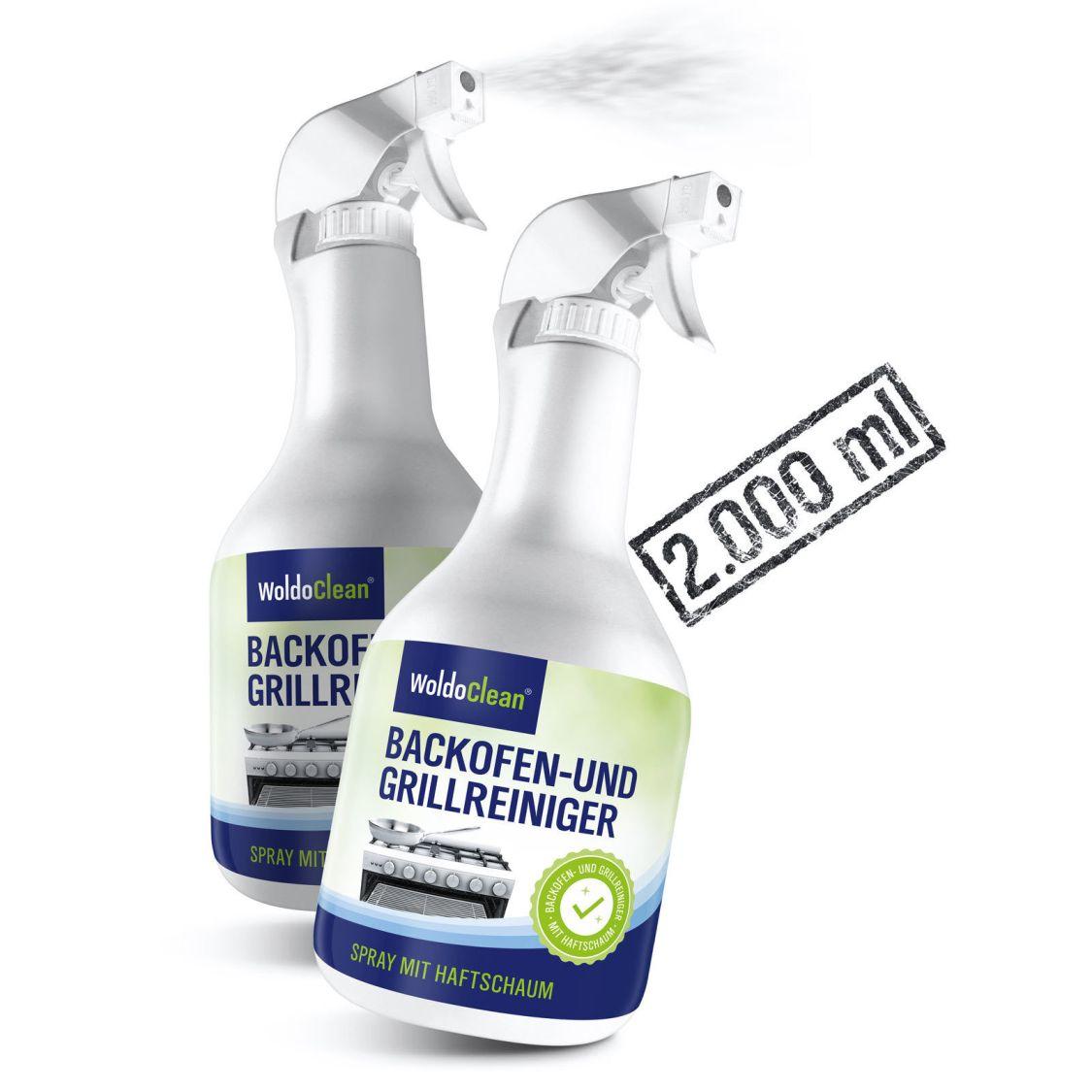 Backofenreiniger & Grillreiniger Ofenreiniger Fettlöser Reiniger 2x 1.000ml
