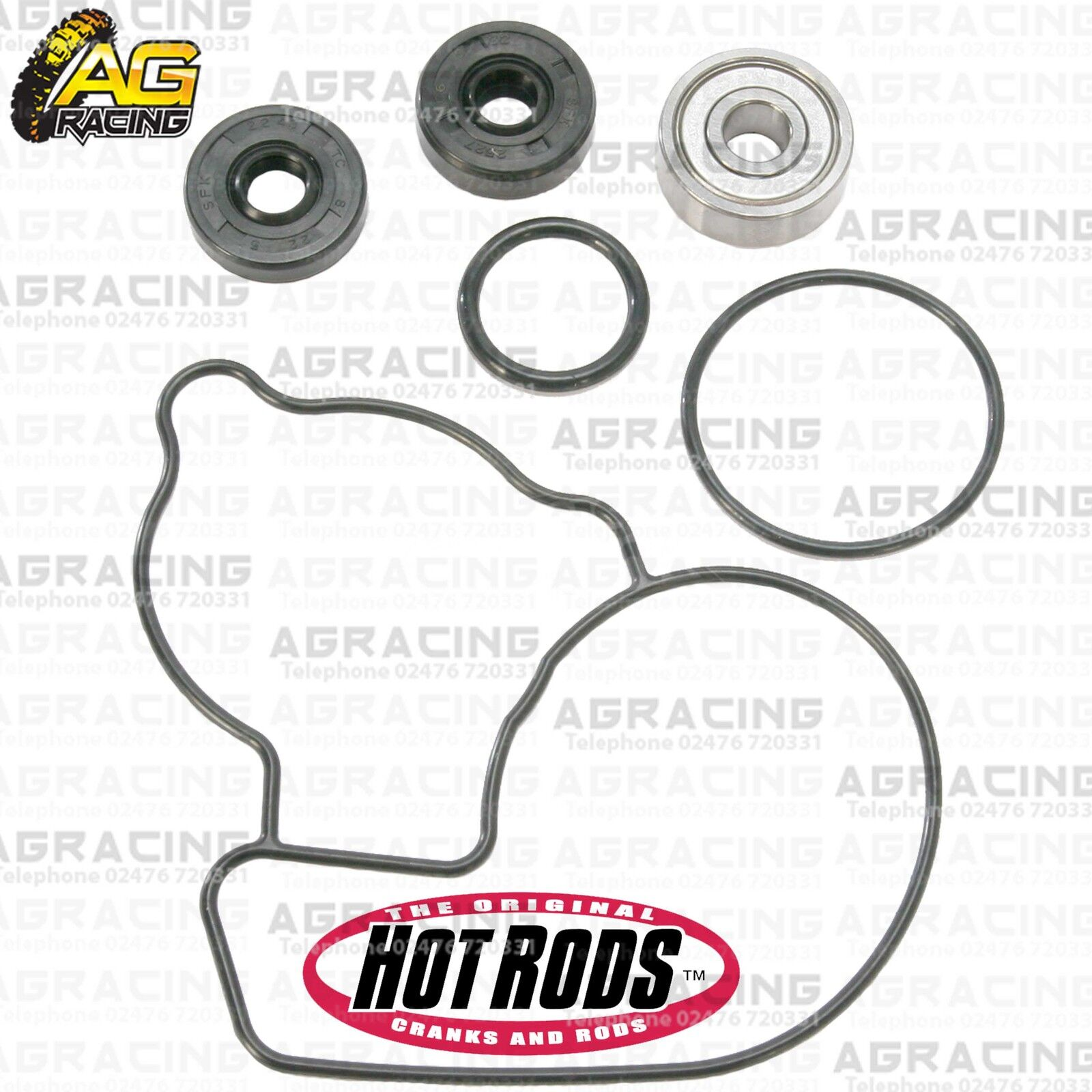 Hot Rods Water Pump Repair Kit For Kawasaki KX 250F 2009