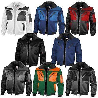 Pilotenjacke Arbeitsjacke 4 in 1 Winterjacke Schutzjacke Berufskleidung