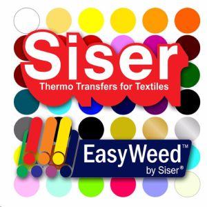 "SISER EasyWeed Heat Transfer Vinyl Tshirt /Textile HTV 12""x 60"" by precision62"