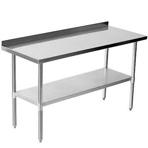 metal kitchen tables hotels with kitchens in san diego stainless steel table ebay