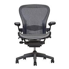 Herman Miller Aeron Chair Open Box Size B Fully Loaded   hardwood caster