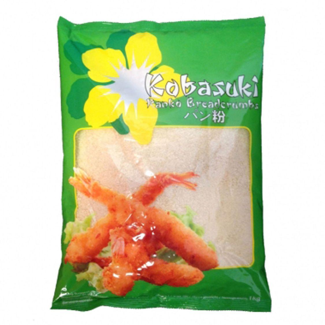 Kobasuki Paniermehl, 1er Pack (1 kg) Panko Tempura Pankomehl Panade Brotkrumen