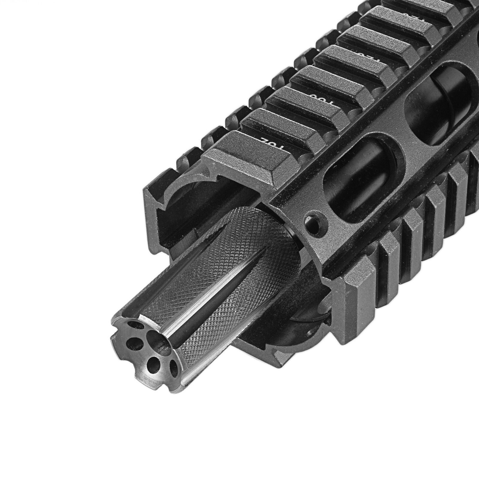 Integrated Muzzle Adapter Coupling System